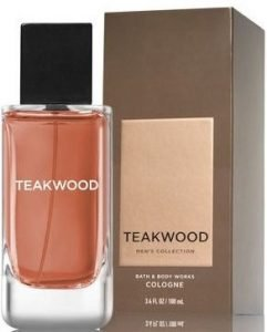 Bath and Body Works Teakwood top Men's Cologne Collection