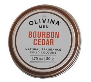 Olivina Men Natural Fragrance Cologne Bourbon Cedar