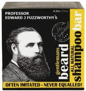 Professor Fuzzworthy's Beard SHAMPOO with All Natural Oils From Tasmania Australia