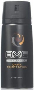 AXE Body Spray Dark Temptation 4Ounce - 4 Pack