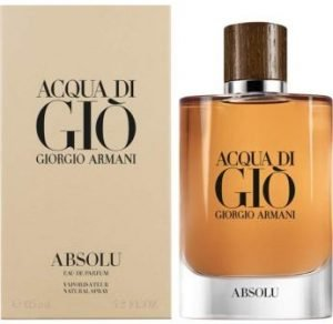 Acqua di Giò Absolu Eau de Parfum Spray, Men, 4.2 Fl Oz