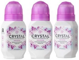 Crystal Unscented Mineral Deodorant Roll-On