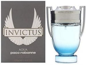 Invictus Aqua by Paco Rabanne for Men 3.4 oz Eau de Toilette Spray