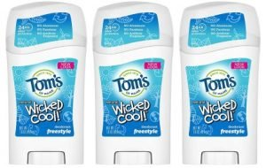 Tom's of Maine Aluminum-Free Natural Wicked Cool Teen Boys Deodorant, Best Deodorant For Boys