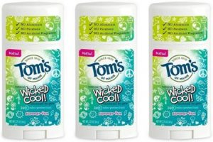 Toms of Maine Natural Wicked Cool Deodorant for Girls, Best Deodorant For Girls