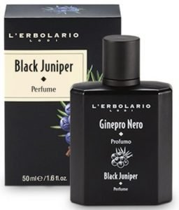 L'Erbolario - Black Juniper - Perfume Spray for Men - Citrus, Woody Scent - Energizing, Bold Fragrance - Dermatologically Tested - Cruelty Free, 1.6 oz